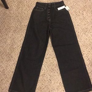 BDG wide let jeans